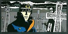 Hugo Pratt : Corto Maltese - cartolina formato grande ( cm 23 x 11 ) - nuova