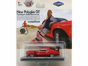 FORD Mustang Boss 302 - 1970 - red / black - M2 Machines 1:64