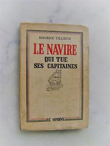 Maurice-TILLIEUX-Gil-Jourdan-Le-navire-qui-tue-ses-capitaines-1943-Rare