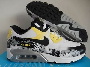 Details about WMNS NIKE AIR MAX 90 PREMIUM DB DOERNBECHER WHITE YELLOW SZ 6 [838767 100]