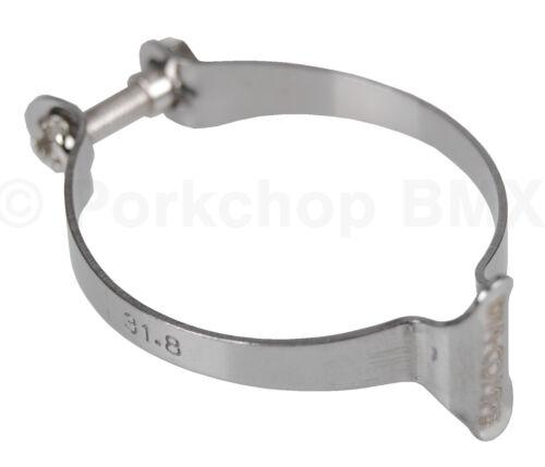 "1 1//4/"" Dia-compe Vélo Câble De Frein Cadre Pince Clip Holder 31.8 mm chrome"