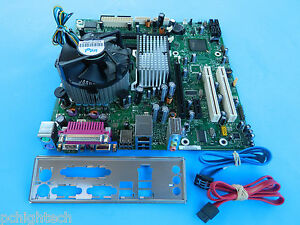 Intel-D66165-502-LGA775-Core-2-Duo-2-4GHZ-Motherboard-SATA-I-O-Heat-Sink-Fan