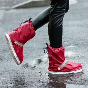 Regenüberschuhe Fahrrad Wasserdicht Überschuhe Schuhüberzieher