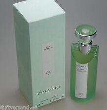 Bvlgari Eau Parfumée au Thé Vert 75 ml Eau de Cologne EdC Spray Neu / OVP