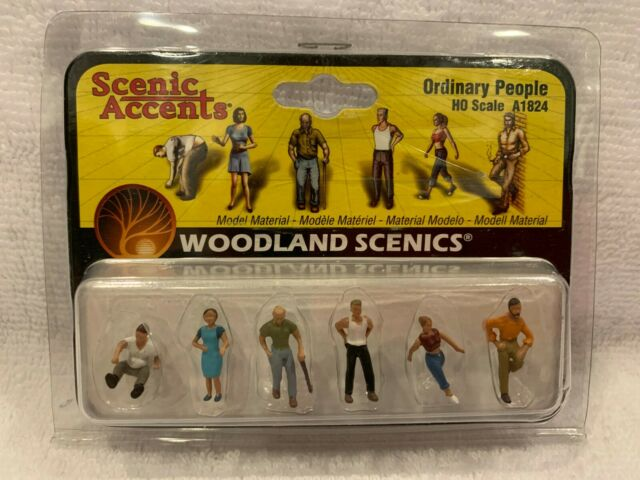 A1914 Woodland Scenics OO Gauge Auto Mechanics Car Mechanics