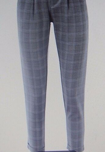 Check Nasty Gal Nwt M Grey Kvinders Pants Cropped 4wWzWqHS