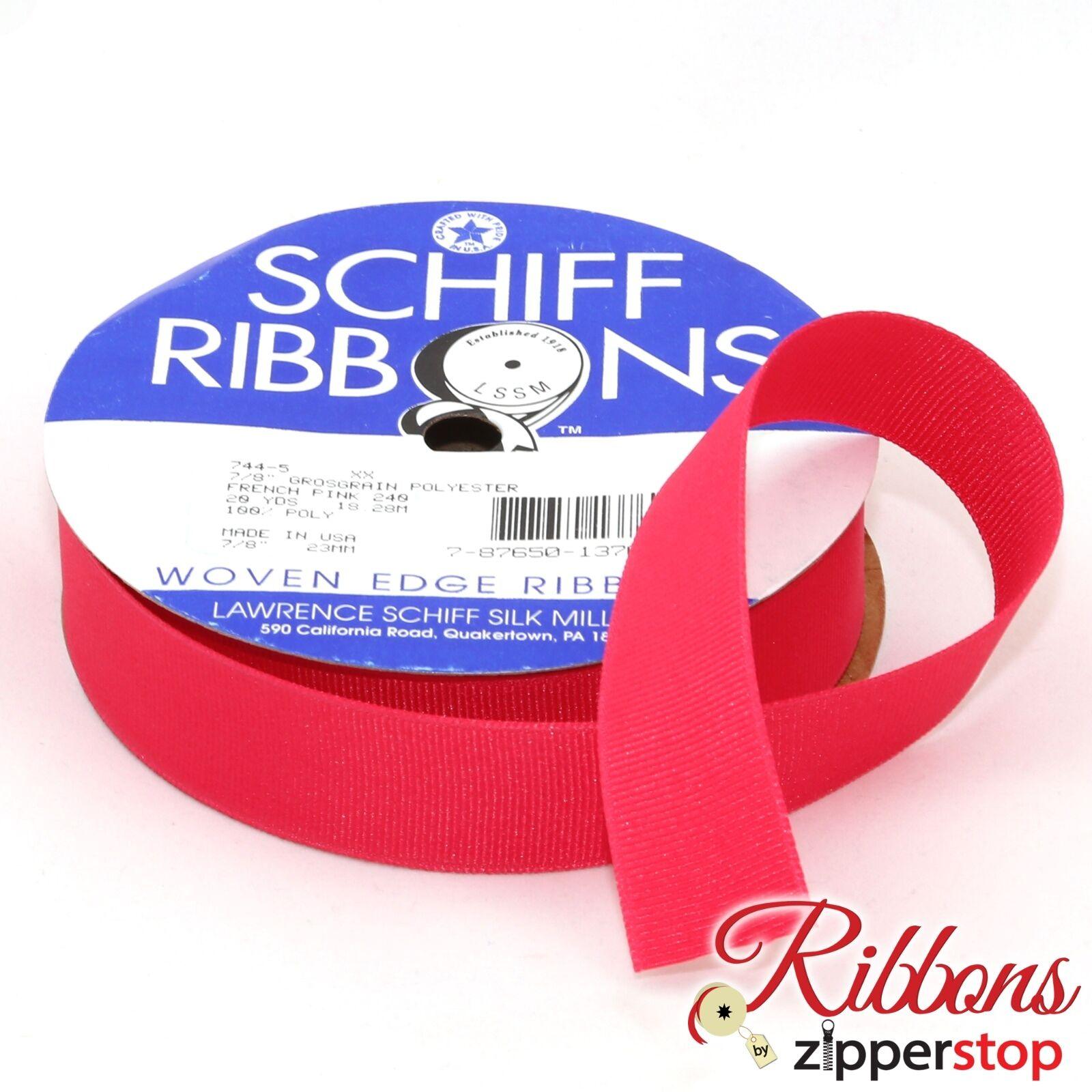 "20 yard spool RED 1 1//2/"" width Polyester Grosgrain Ribbon"