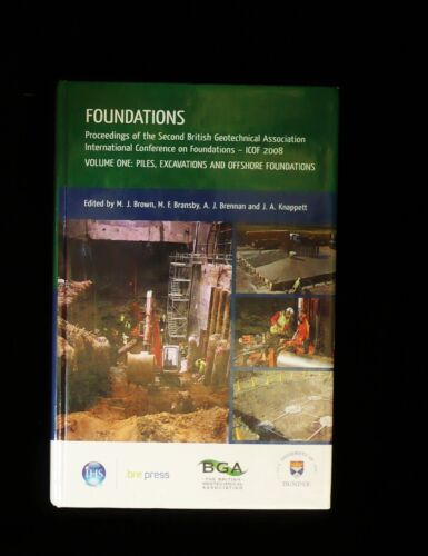 2nd BRITISH GEOTECHNICAL ASSOC. INTERNATIONAL CONFERENCE ON FOUNDATIONS Vol 1