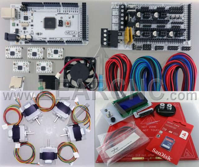 LearCNC RAMPS 1.4 Starter Pro Kit for RepRap Prusa Rostock 3D Printer Nema17