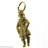 Gold Beefeater Charm. Hallmarked 9 Carat Gold Tower Of London Beefeater Charm