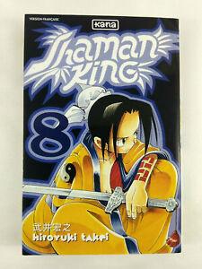 Manga-Shaman-King-VF-Tome-8-Envoi-rapide-et-suivi