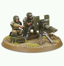 Warhammer 40k Imperial Guard / Astra Militarum Cadian Heavy Weapons Team