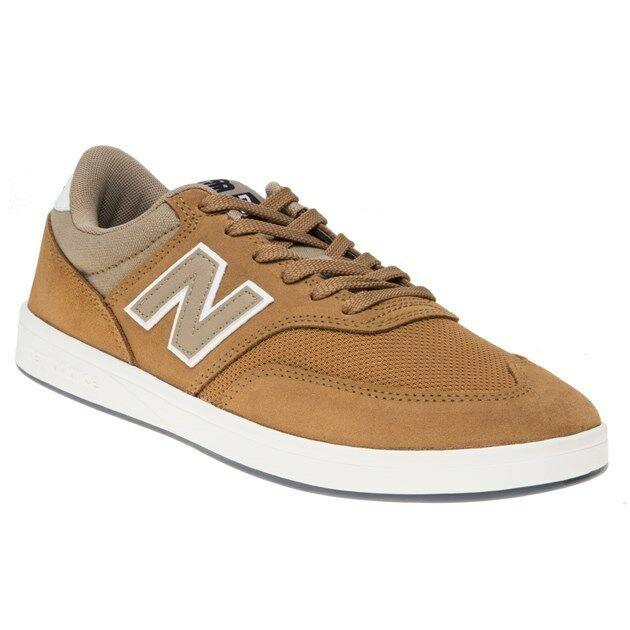 New MENS NEW BALANCE TAN 617 SUEDE Sneakers Retro