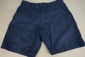 Lululemon-Blue-Mens-Cotton-Blend-Casual-Shorts-Sz-30