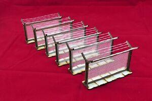 Stacheldrahtzaun 6 Stck. 100 mm für 28 - 30 mm Tabletop /Warhammer/Infinity;....