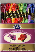 Set of 36 Skeins ~ DMC Variegated Embroidery Cross Stitch Floss #117F25PK36