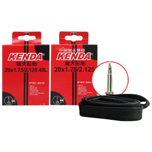 20x1.75//2.125 Schrader//Presta Valve Mountain Bike Bicycle Inner Tube Kenda New