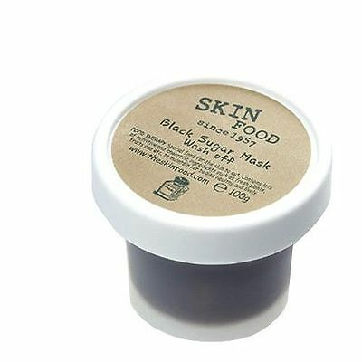 [SkinFood] Black Sugar Mask 100g Wash-off Mask Facial Scrub Peeling
