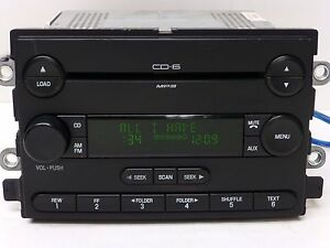 Details About FORD FREESTYLE 500 FIVE HUNDRED MERCURY Radio 6 CD DISC Changer MP3 Player SUB