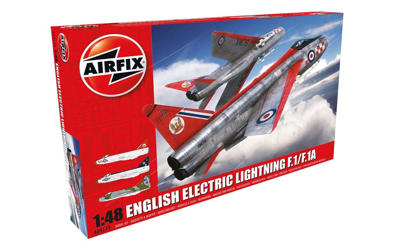 English Electric Lightning F1 - F3 Plastic Model Airplane Kit 09179