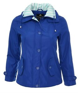 Size Womens Jacket With Blue 10 New Tags French Coat 24 Brand ffd1rBpq