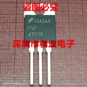 10pcs FQP47P06 60V P-Channel MOSFET TO-220