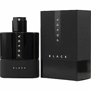 Prada Luna Rossa Black 3.4oz Men's Eau De Parfum