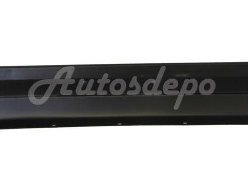 For 86-93 Mazda B2000 B2200 B2600 Front Bumper Center Bar Black W//O Molding Hole