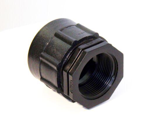 "1,5/"" de almacenamiento de agua del tanque de aceite IBC ajuste Adaptador A 1-1//2 /""BSP Rosca Hembra"