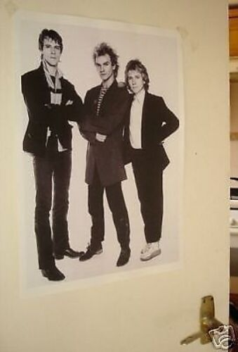 The Police STING Door Poster