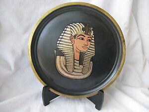 1-Egyptian-Brass-Wall-Decor-Black-Plate-King-Tut-Mask-Design-8-5-034