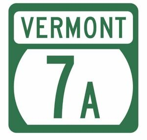 Vermont State Highway 44A Sticker Decal R5289 Highway Route Sign