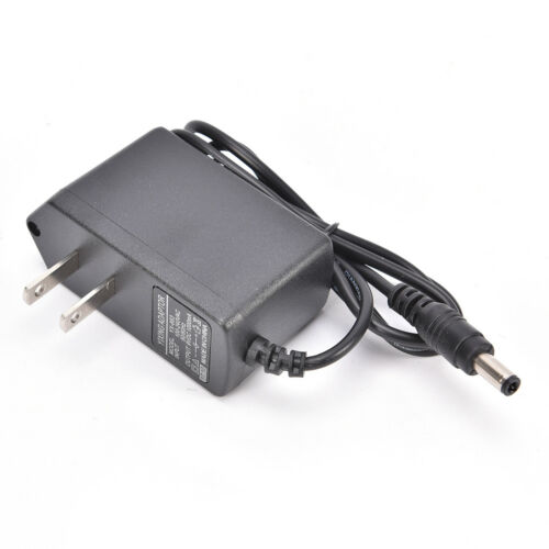 AC to DC 9V 1A charger Adapter Power Supply Conventer 600mA  5.5X2.1 2.5X0.7 LE