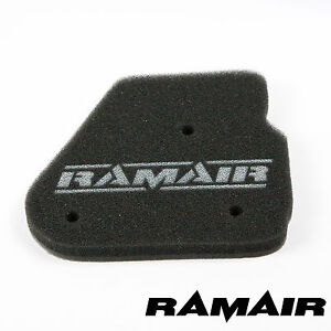 RAMAIR-High-Flow-Performance-Panel-Air-Filter-Race-Foam-replacement-MBK-Nitro-50