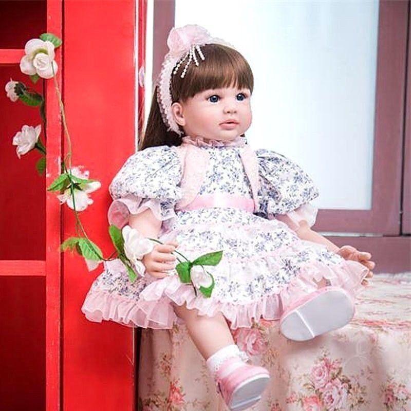 RINATO BABY GIRL Bambola realistica bambole realistici Bambini Bambino Giocattoli BEBE regali