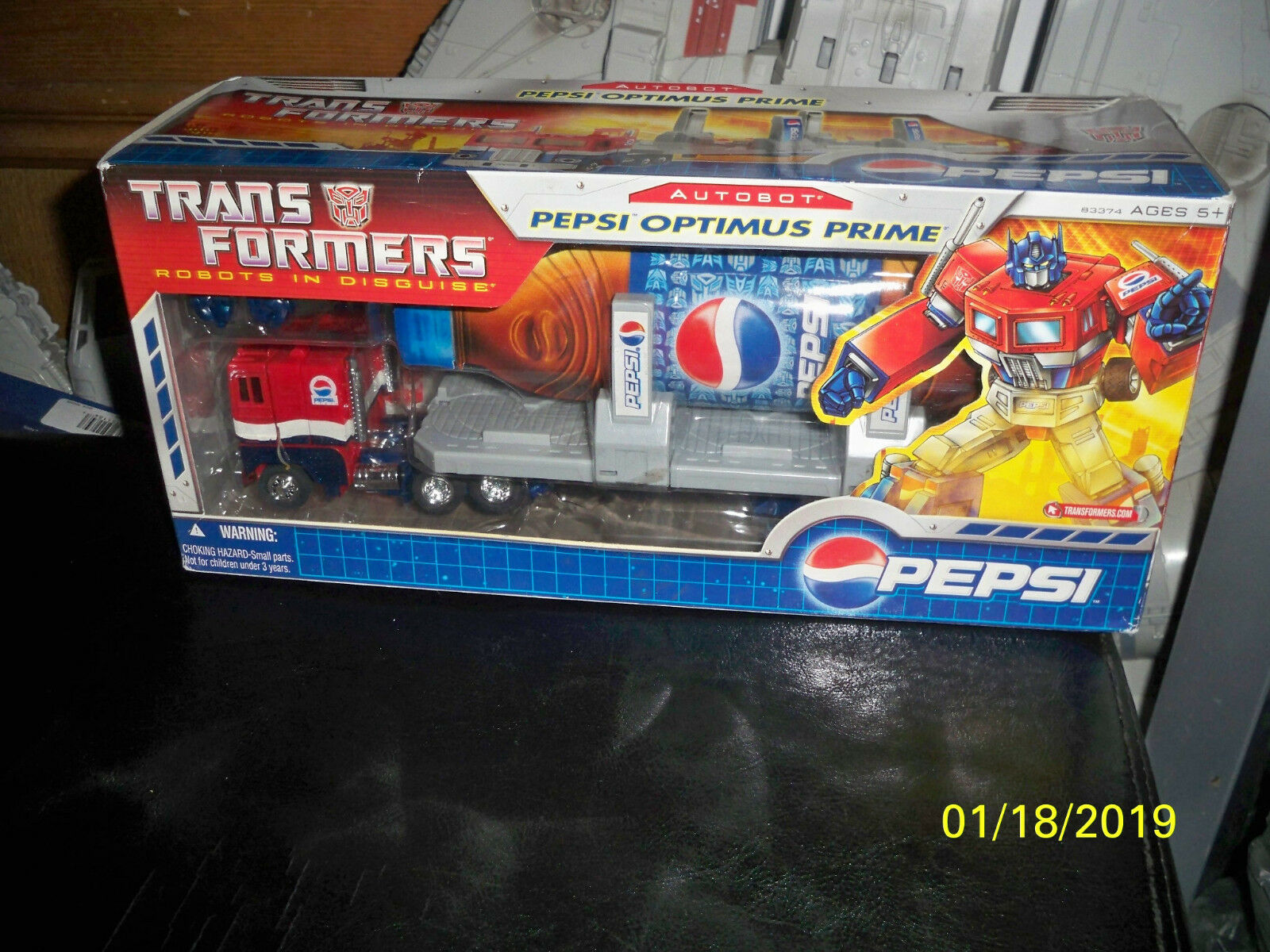 Transformers Pepsi Prime 2007 New Sealed