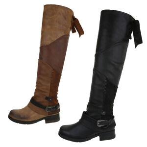 Used Damenschuhe 0� Gefütterte Zu Optik Details Stiefel Overknee 3785 TlF1Ju3Kc5