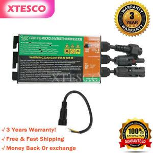 350W Grid Tie Micro Inverter DC18-50V to AC230V Solar Pure Sine Wave Inverter