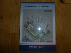 Canterbury Cathedral 3d Puzzle.-afficher Le Titre D'origine