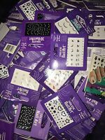 Lot 200 Nailene Nail Art Stickers Fingers & Toes Rhinestones Gems Wholesale