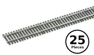 HO-OO-Peco-SL-8300-Code-83-Nickel-Silver-Flex-Track-Wooden-Ties-25x-36-034-Pcs