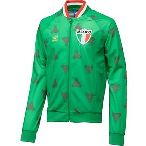 Image is loading NEW-MENS-ADIDAS-ORIGINALS-MEXICO-SOCCER-TRACK-TOP-