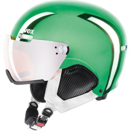 UVEX hlmt 500 Visor Skihelm chrome grün