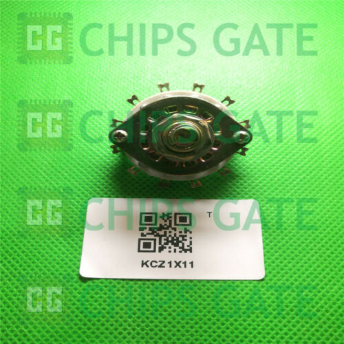 1PCS KCZ1X11 1P11T 1 Pole 11 Throw Single Deck Band Channel Rotary Switch