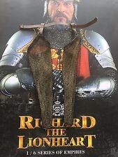 Coo Modelos Richard la Pierna Armour suelto de correo de cadena Lionheart escala 1/6th
