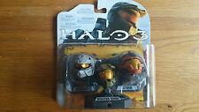 Halo Helmets 3-Pack Wave 1 ROGUE MASTER CHIEF CQB helmets 2009 UK seller