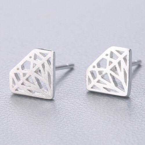 Hot Elegant Wedding Women Jewelry 925 Silver Plated Ear Stud Clip Drop Earrings