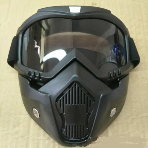 Hot Sales Modular Mask Detachable Goggles And Mouth Filter Perfect for Open Face