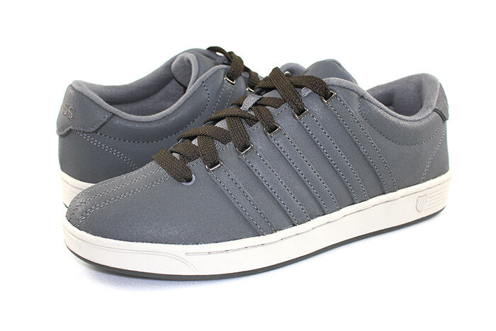 K-Swiss Court Pro 2 Charcoal Men 03754-097 Sneakers Schuhes Men Charcoal 2f43dd