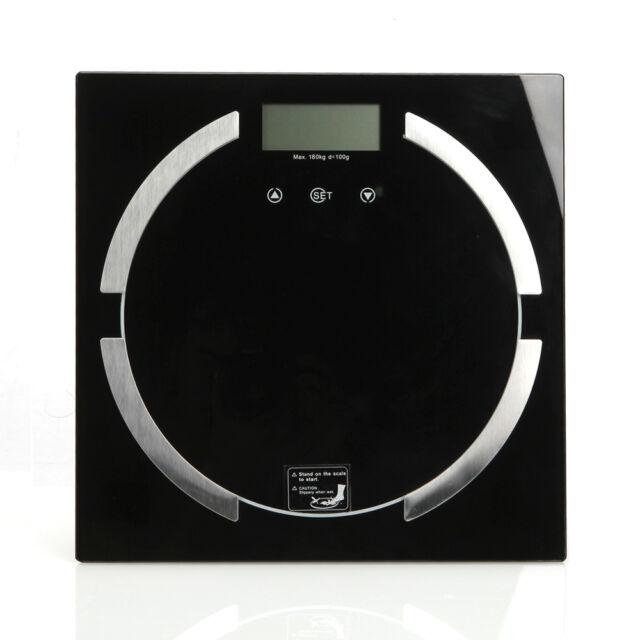 Digital Bathroom Scale Body Fat Hydration Muscle Weight Scale 180kg / 396lbs